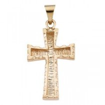 Latin Cross in 14k Yellow Gold