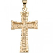 Latin Cross in 10k Yellow Gold
