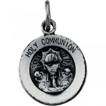Holy Communion Pendant in Sterling Silver