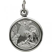 Baptismal Metal in Sterling Silver