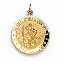 US Air Force St Christopher Medal in Sterling Silver