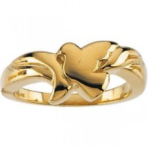 Holy Matrimony Ring in 10k Yellow Gold