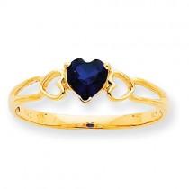 Sapphire Birthstone Ring