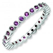 Rhodolite Garnet Ring