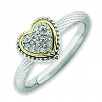 Diamond Heart Ring
