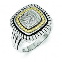 0.1 Ct. Diamond Ring