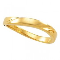 Stackable Ring in 14k Yellow Gold