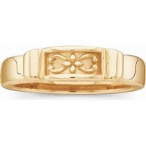 Fashion Band in 14k Yellow Gold