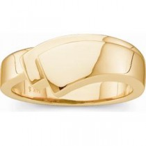 Gold Fashion Ring in 14k Yellow Gold