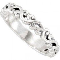 Stackable Fashion Ring in Sterling Silver