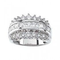 Fashion CZ Ring in Sterling Silver