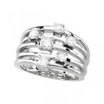 Diamond Promise Ring in 14k White Gold (0.5 Ct. tw.) (0.5 Ct. tw.)