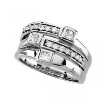 Diamond Promise Ring in 14k White Gold (0.75 Ct. tw.) (0.75 Ct. tw.)