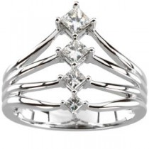 Diamond Ring in 14k White Gold (0.5 Ct. tw.) (0.5 Ct. tw.)