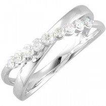 Diamond Ring in 14k White Gold (0.2 Ct. tw.) (0.2 Ct. tw.)