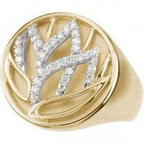 Diamond Ring in 14k Two-tone Gold (0.25 Ct. tw.) (0.25 Ct. tw.)