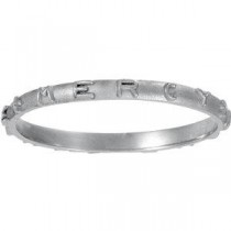 Prayer Ring in 14k White Gold