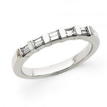 Princess Cut Diamond Anniversary Rings
