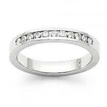 Channel Set Diamond Anniversary Rings