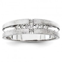 Multi Stone Diamond Anniversary Rings