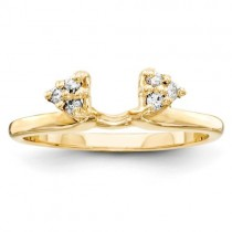 Diamond Bridal Ring Wrap