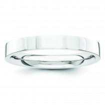 Comfort Fit Flat Wedding Band (3.00 mm)