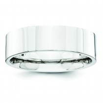 Comfort Fit Flat Wedding Band (6.00 mm)