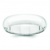 Classic Half Round Wedding Band (5.00 mm)