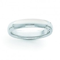 Light Comfort Fit Wedding Band (5.00 mm)