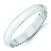 Classic Half Round Wedding Band (4.00 mm)