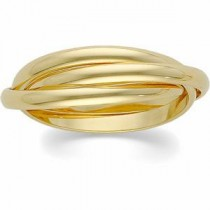Three Band Rolling Ring (2.50 mm)