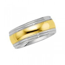 Double Milgrain Band (8.00 mm)