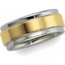 Edge Flat Wedding Band (7.50 mm)