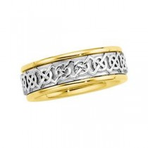 Celtic Wedding Band (7.00 mm)