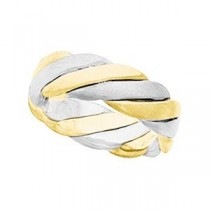 Two Tone Hand Woven Band (6.00 mm)