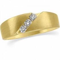 Three Stone Diamond Anniversary Rings (0.2 Ct. tw.) (0.2 Ct. tw.)