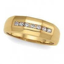 Channel Set Diamond Anniversary Rings (0.25 Ct. tw.) (0.25 Ct. tw.)
