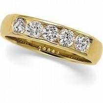 Five Stone Diamond Anniversary Rings (0.625 Ct. tw.) (0.625 Ct. tw.)