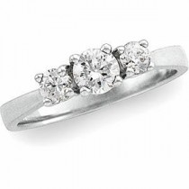 Three Stone Diamond Anniversary Rings (0.625 Ct. tw.) (0.625 Ct. tw.)