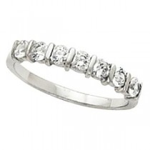 Multi Stone Diamond Anniversary Rings (0.5 Ct. tw.) (0.5 Ct. tw.)