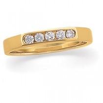 Five Stone Diamond Anniversary Rings (0.16 Ct. tw.) (0.16 Ct. tw.)
