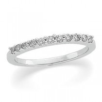 Pave Diamond Anniversary Rings (0.2 Ct. tw.) (0.2 Ct. tw.)