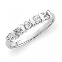 Five Stone Diamond Anniversary Rings (0.5 Ct. tw.) (0.5 Ct. tw.)