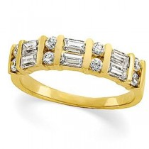 Baguette Cut Diamond Anniversary Rings (0.75 Ct. tw.) (0.75 Ct. tw.)