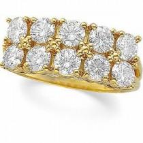 Multi Stone Diamond Anniversary Rings (2 Ct. tw.) (2 Ct. tw.)