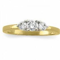 Three Stone Diamond Anniversary Rings (0.5 Ct. tw.) (0.5 Ct. tw.)