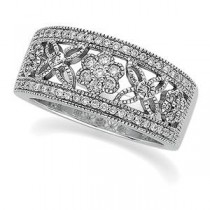 Pave Diamond Anniversary Rings (0.5 Ct. tw.) (0.5 Ct. tw.)