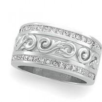 Multi Stone Diamond Anniversary Rings (1 Ct. tw.) (1 Ct. tw.)