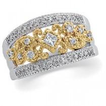 Pave Diamond Anniversary Rings (0.5 Ct. tw.) (0.5 Ct. tw.)