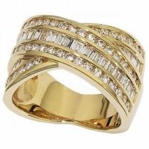 Pave Diamond Anniversary Rings (0.75 Ct. tw.) (0.75 Ct. tw.)